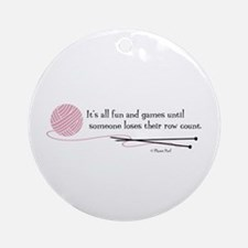 """Fun and Games"" Ornament (Round)"