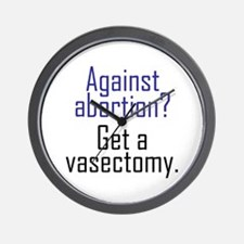 VASECTOMY Wall Clock