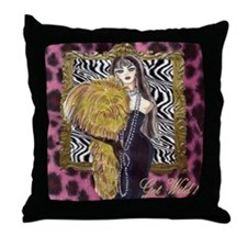 Get Wild designer throw pillow