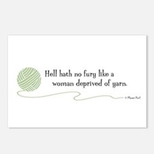 """""""Hell Hath No Fury"""" Postcards (Package of 8)"""