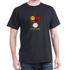 Peace Love Spare Time T-Shirt