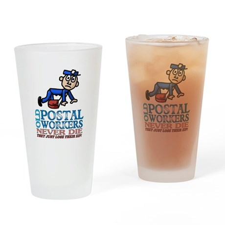 Postal Drinking Glass
