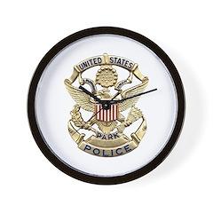 U.S. Park Police Wall Clock