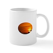 Sunset on Fire Mug