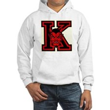 "Yo-Hi ""K"" with Red Devil Face Hoodie"