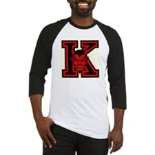 "Yo-Hi ""K"" with Red Devil Face Baseball Jersey"