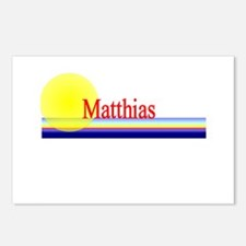 Matthias Postcards (Package of 8)