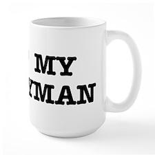I Heart My Handyman Mug