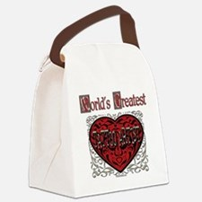 GreatestFracturedTattoArtist.png Canvas Lunch Bag