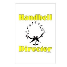Handbell Director Postcards (Package of 8)