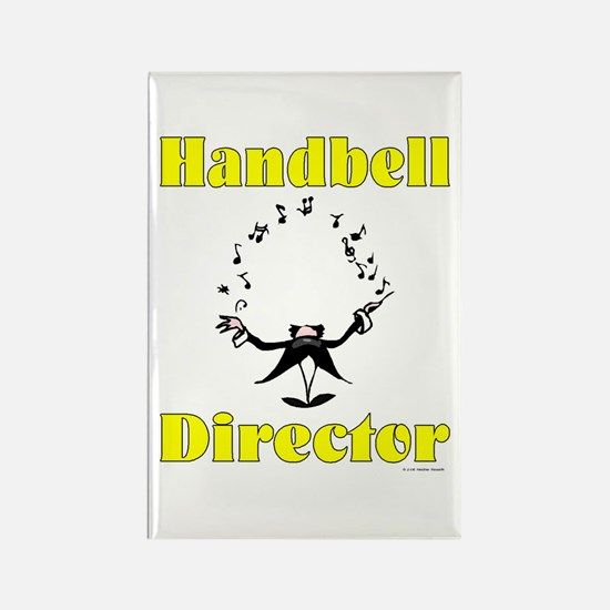 Handbell Director Rectangle Magnet