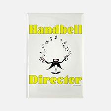 Handbell Director Rectangle Magnet (10 pack)