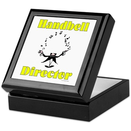 Handbell Director Keepsake Box