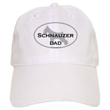 Schnauzer DAD Baseball Cap
