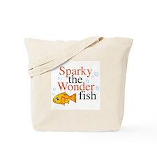 Sparky the Wonderfish Tote Bag