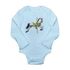 Carousel Long Sleeve Infant Bodysuit