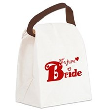 HBRIDEREDfuture.png Canvas Lunch Bag