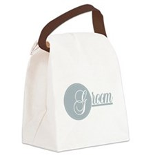 graygroomtshirtabc.png Canvas Lunch Bag