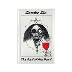 Zombie Rectangle Magnet