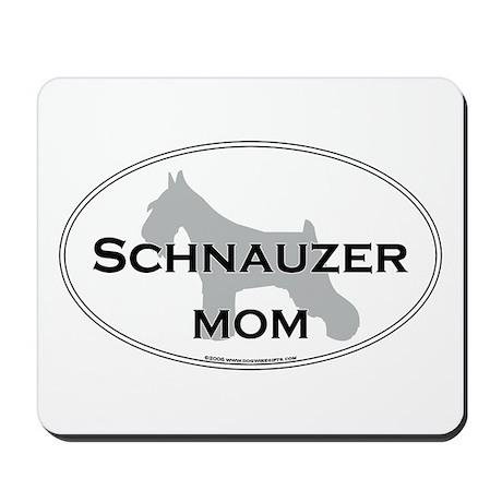 Schnauzer MOM Mousepad
