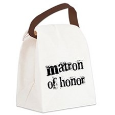 crazymatronhonor.png Canvas Lunch Bag