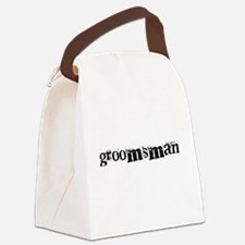 crazygroomsman.png Canvas Lunch Bag