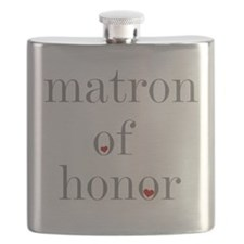 Cute Matron of honor Flask