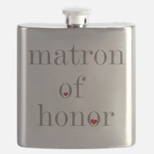 Cute Matron of honor Flask