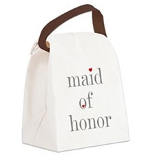 Cute Bridal party Canvas Lunch Bag