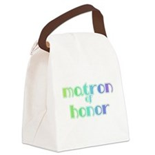 RAINBOWMATRONHONOR.png Canvas Lunch Bag