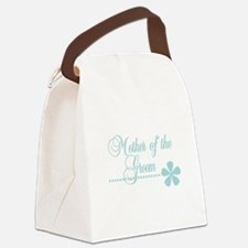 mothergroomteal.png Canvas Lunch Bag