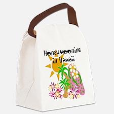 honeymoonhawaii.png Canvas Lunch Bag