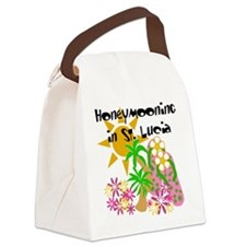 honeymonstlucia.png Canvas Lunch Bag