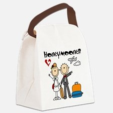 Stick Figures Honeymooner Canvas Lunch Bag