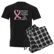 Heart Hero Breast Cancer Pajamas
