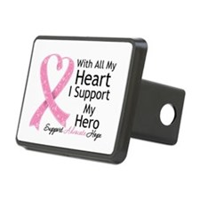 Heart Hero Breast Cancer Hitch Cover