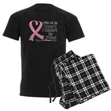 Heart Friend Breast Cancer Pajamas