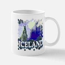 iceland art illustration Mug