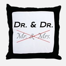 Unique Phd Throw Pillow
