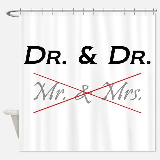 Cute Dr Shower Curtain