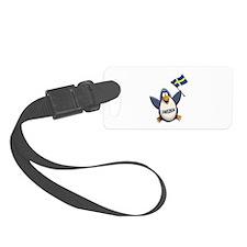 Sweden Penguin Luggage Tag