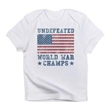 Undefeated World War Champs Infant T-Shirt
