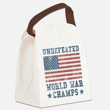 Undefeated World War Champs Canvas Lunch Bag