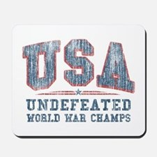 V. USA World War Champs Mousepad