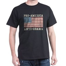 V. Pro-America Anti-Obama T-Shirt