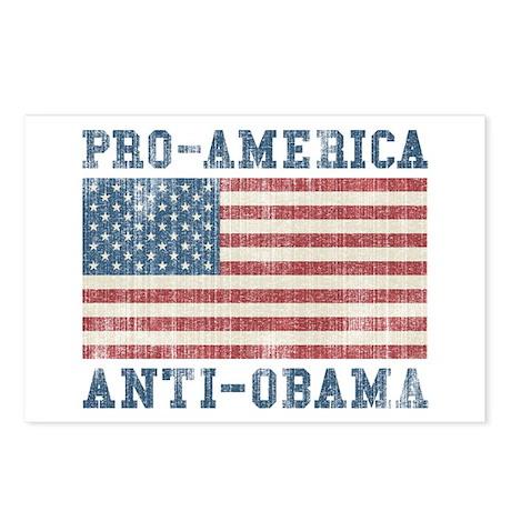 V. Pro-America Anti-Obama Postcards (Package of 8)