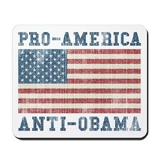 V. Pro-America Anti-Obama Mousepad