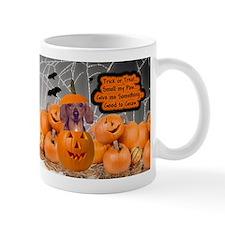 Dachshund Halloween (Red) Mug