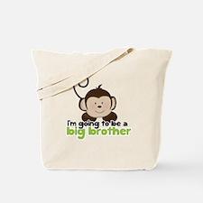 Big Brother Pop Monkey Design Tote Bag