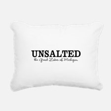 Michigan UNSALTED Rectangular Canvas Pillow